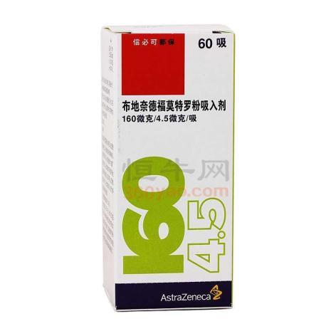 布地奈德福莫特罗粉吸入剂(信必可都保)包装侧面图2