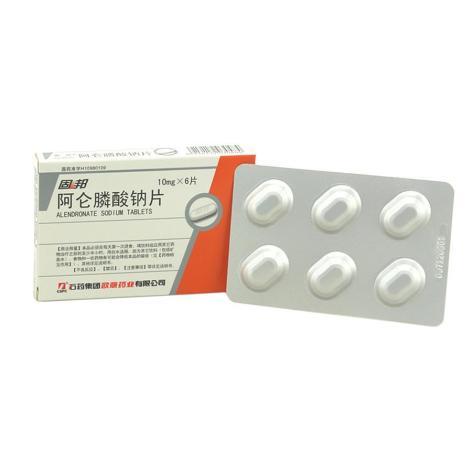 阿仑膦酸钠片(固邦)包装侧面图3