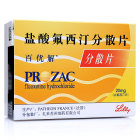 百优解 盐酸氟西汀分散片 20毫克×28片