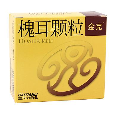 金克 槐耳顆粒 20克×6袋 啟東蓋天力藥業有限公司