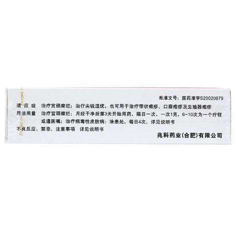 重组人干扰素α2b凝胶(尤靖安)包?#23433;?#38754;图2