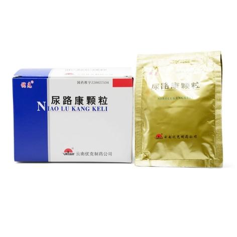 尿路康颗粒(优克)包装侧面图4