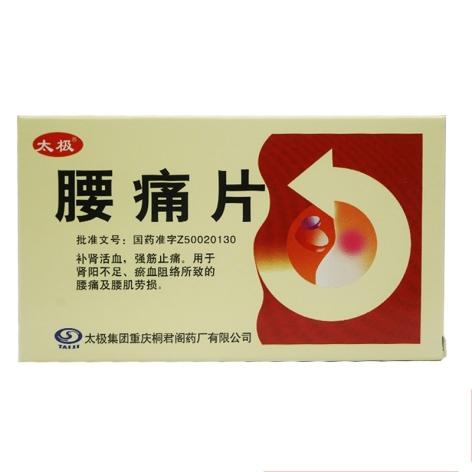 腰痛片(太极)包装主图