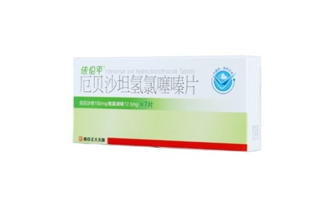 厄贝沙坦氢氯噻嗪片(依伦平)主图