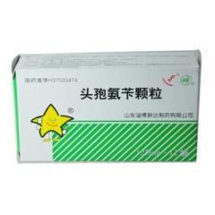 头孢氨苄颗粒(新达)