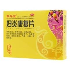妇炎康复片(杉榆)