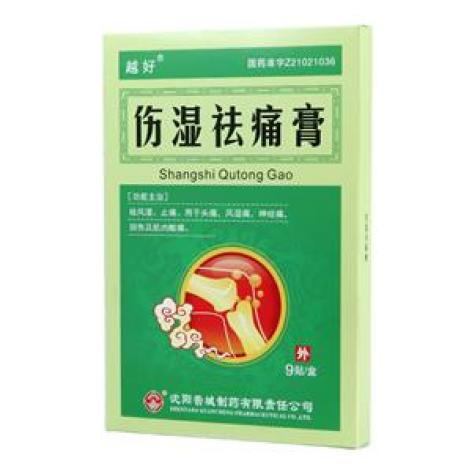 伤湿祛痛膏(越好)包装主图
