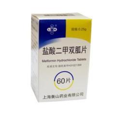盐酸二甲双胍片(乐宁)