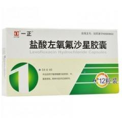 盐酸左氧氟沙星胶囊(丰原涂山)