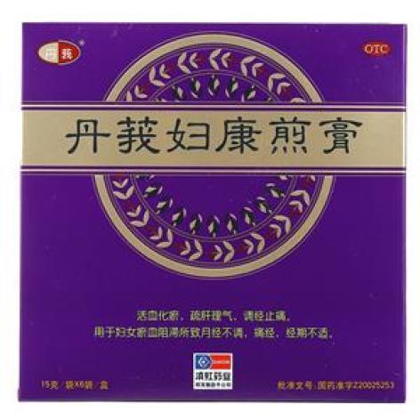 丹莪妇康煎膏(丹莪)包装主图