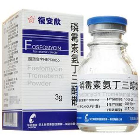 磷霉素氨丁三醇散(复安欣)包装主图