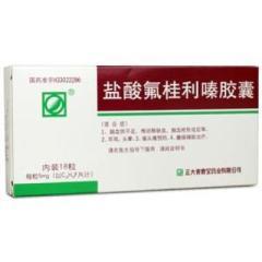 盐酸氟桂利嗪胶囊(青春宝)